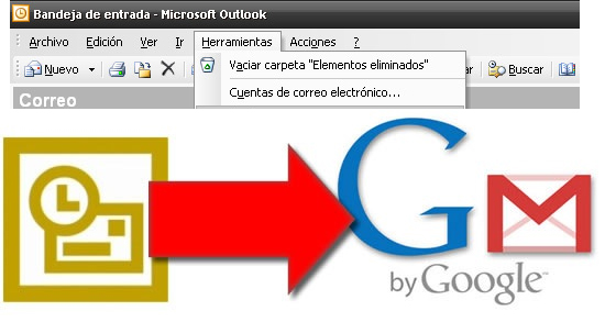 , Gmail ahora se «sincroniza» con Outlook de Microsoft