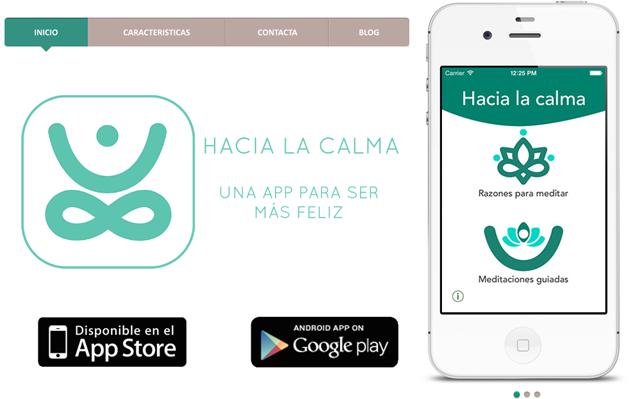 hacia la calma app
