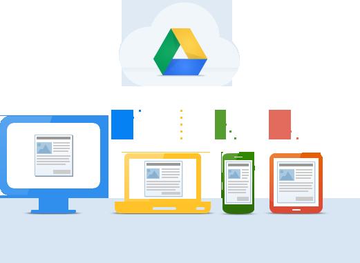 , Google Drive, 5GB de almacenamiento en la nube