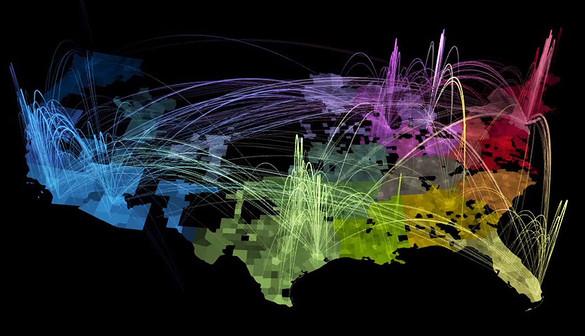 , Comienzan a elaborar el mapa que permitirá visualizar un mundo conectado