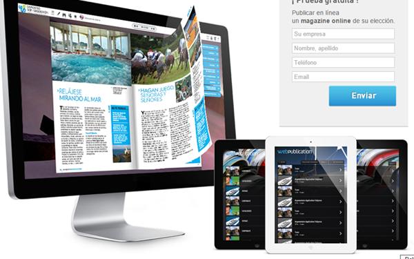 magazine interactivo