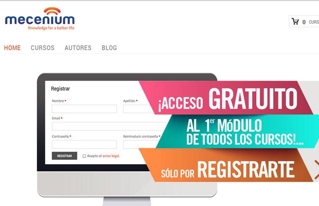 mecenium formación online