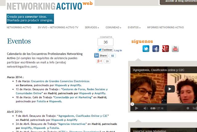 networking activo