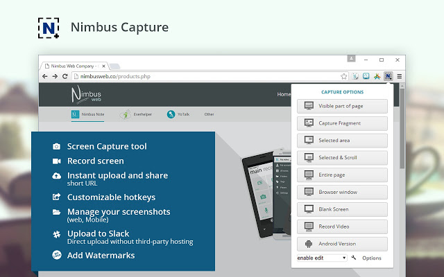 Nimbus Screenshot & Screen Video Recorder