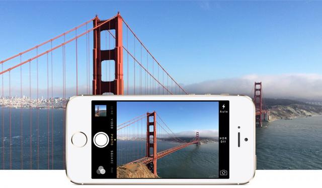 nueva cámara del iphone 5S