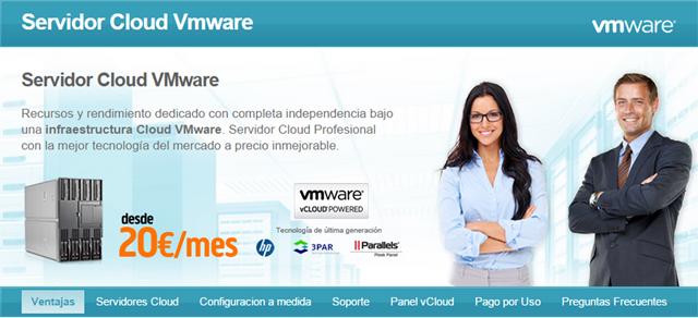 nueva web y nuevos precios en servicios cloud de Interdominios