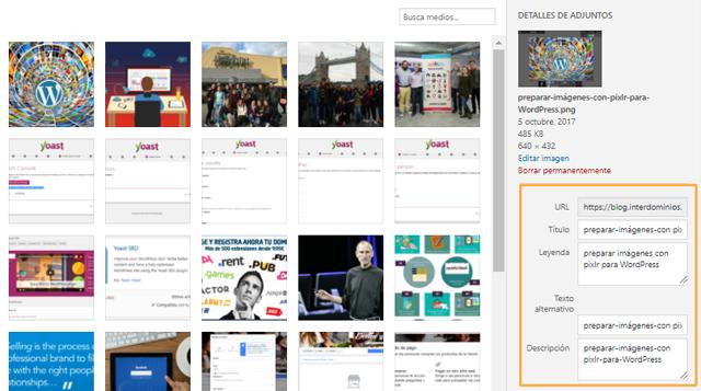 optimizar imágenes para WordPress, Cómo preparar y optimizar imágenes para WordPress