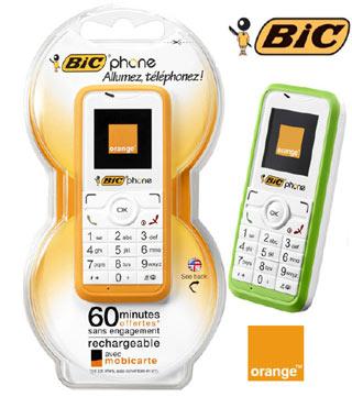 , El nuevo «Bic Phone» listo para usar a partir de Julio