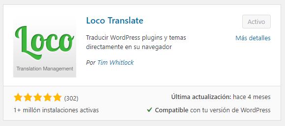 plugin Loco Translate
