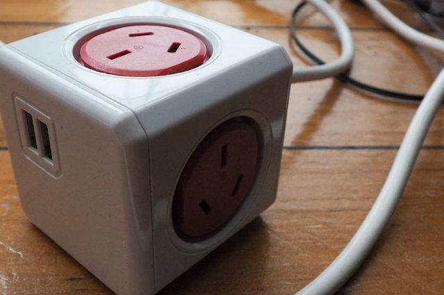 Regleta PowerCube Fuente de la imagen: Gadget Guy
