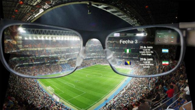 realidad aumentada en el mundial de futbol 2018 vía El Cronista