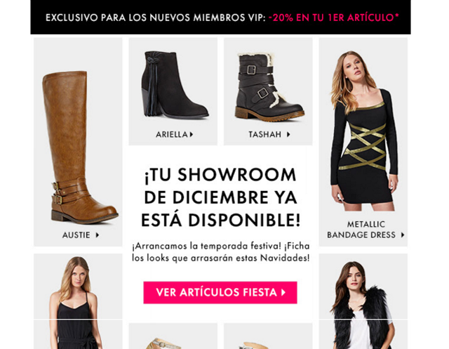 showroom navideño
