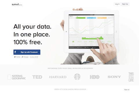 sumall - herramienta Data Base