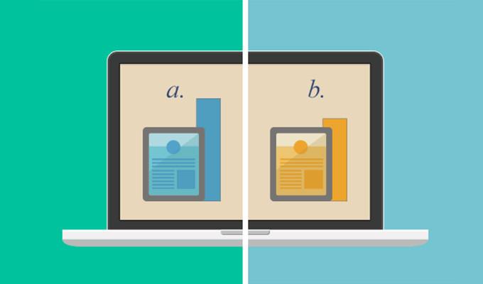 Test A/B conversión Fuente. www.gowebcreative.com