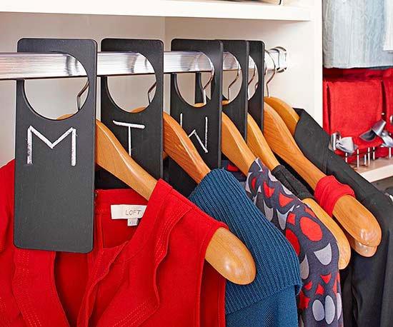 Organizar armario Fuente de la imagen: La voz del muro