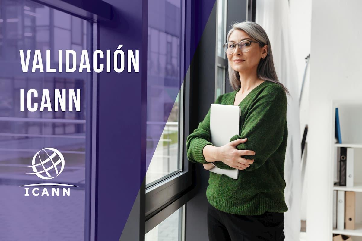 validación ICANN