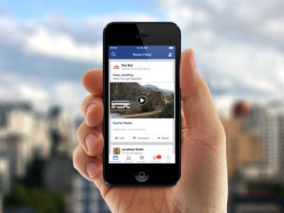 Los vídeos en Facebook, el contenido que más éxito tiene