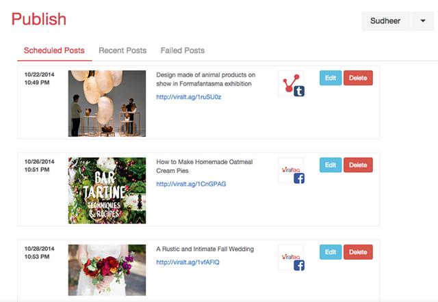 viraltag aplicación para programar en Pinterest