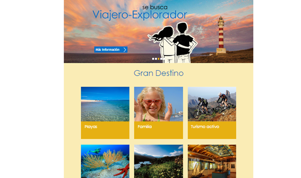web turismo Gran Canaria
