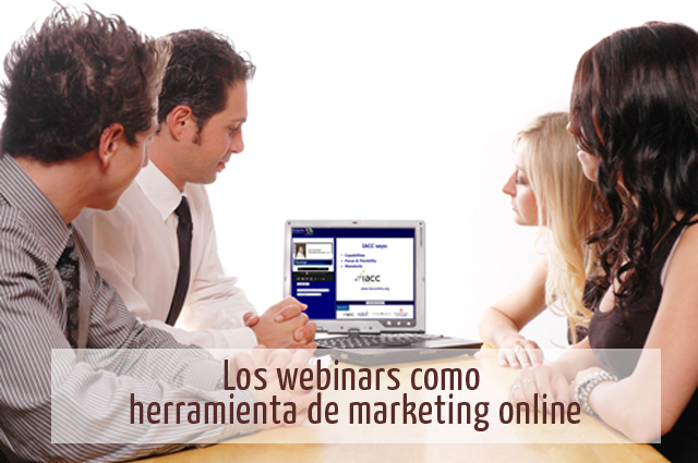 webinar como herramienta de marketing online