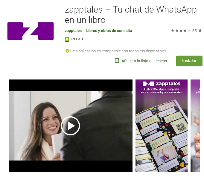 zapptales – Tu chat de WhatsApp