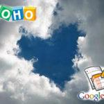 Zoho y Google: Amor de conveniencia