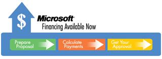 , Microsoft dinamiza el mercado con «Microsoft Financing»