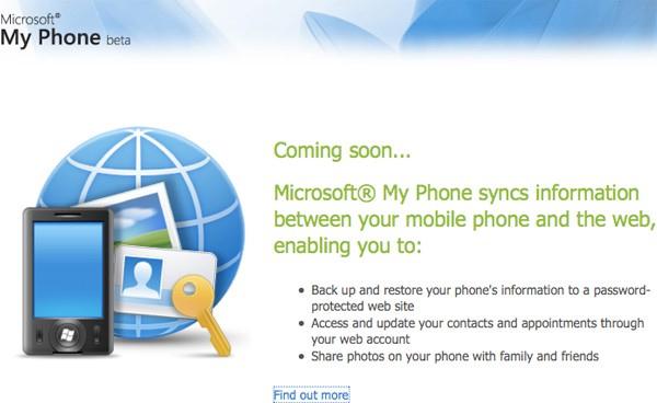 """, Microsoft prepara su servicio """"cloud"""" para móviles: My phone"""