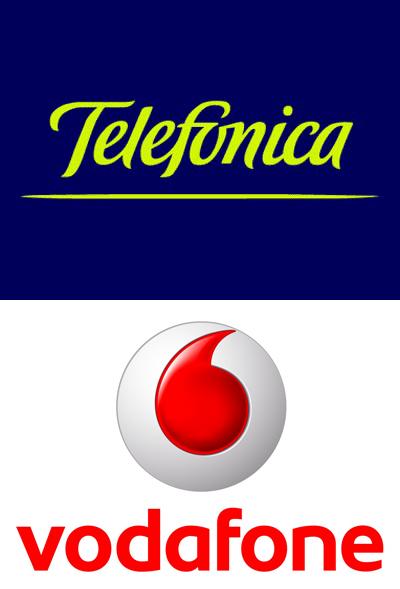 , Colaboración de Telefonica y Vodafone en Europa